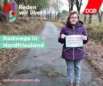 Radwege in Nordfriesland