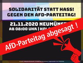 AfD-Parteitag abgesagt