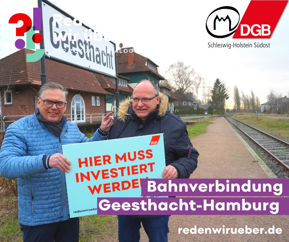 Bahnverbindung Geesthacht-Hamburg