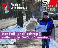 Rad- und Fußweg B4