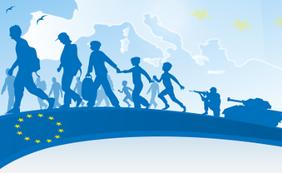 Logo kampagne refugess welcome