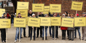 Aktionstag in Lübeck