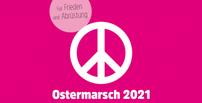 Peace-Zeichen Ostermarsch 2021